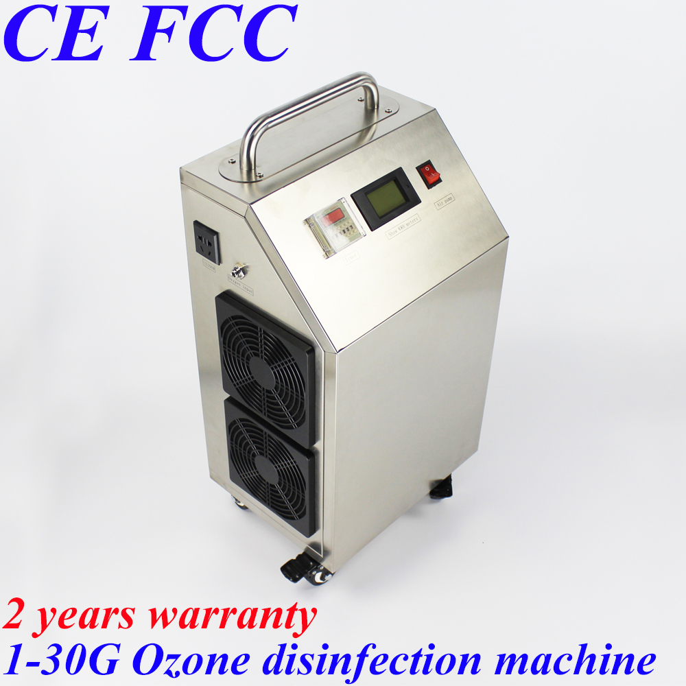 CE EMC LVD FCC Factory outlet BO-30AYT 1-30g/h 30gram Movable stainless steel shell ozone air water disinfection machine ce emc lvd fcc factory outlet bo 30ayt 1 30g h 30gram movable portable ozone generator air water disinfection machine