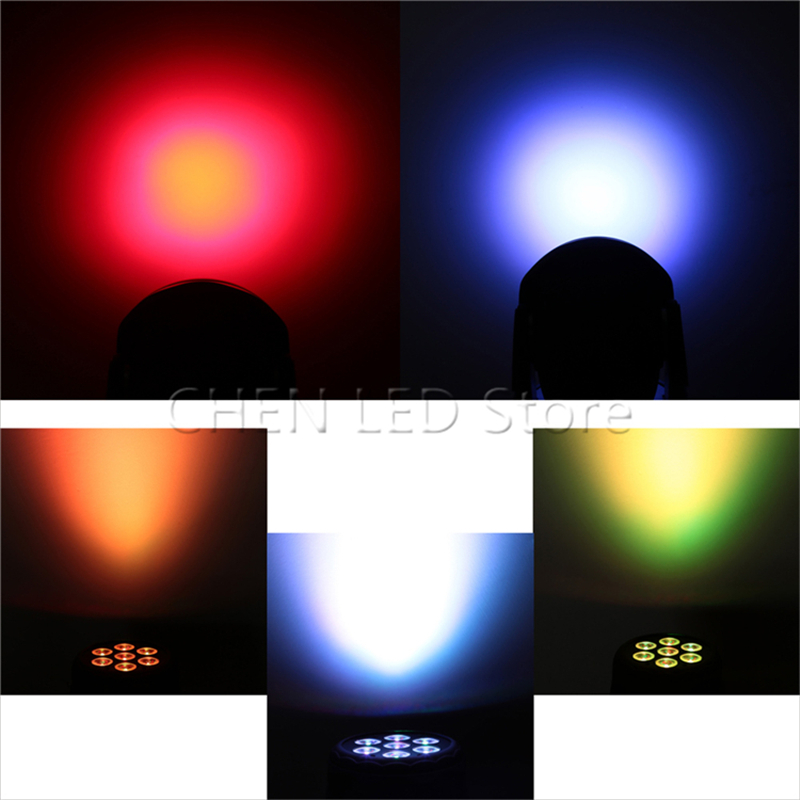 New Arrival RGBW LED Stage Light Moving Head Beam Party Light DMX-512 Led Dj Xmas Christmas Sound Active DMX Disco Light 1/5/10X