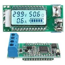 Новый Дизайн, Прочный 18650 26650 Литий Литий-Ионная батарея тестер жки Напряжение/Ток/Мощность