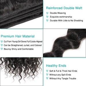 Image 4 - Волнистые бразильские пряди волос ALI GRACE, 1, 3, 4 шт., пряди человеческих волос 100%, человеческие волосы Remy, пряди для наращивания волос