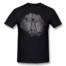Vitruvian Man T Shirt for Men