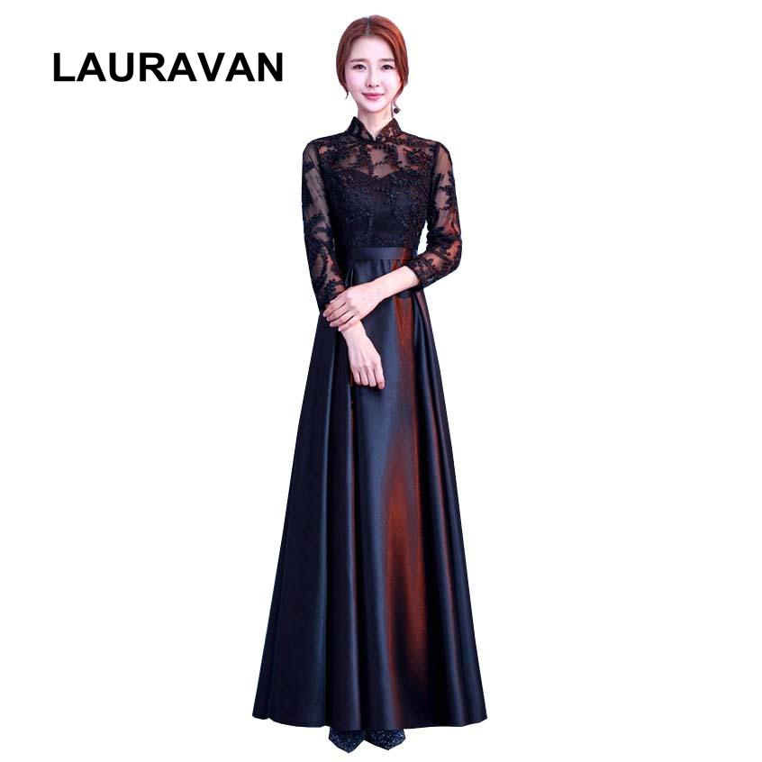 long beautiful lace up back corset high neck bridesmaid dress women gowns black briadsmaids ball gown occasion dresses girls