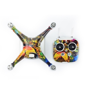 CA13 Wrap Body Skin Decal Sticker for DJI Phantom 4 Quadcopter&Controller