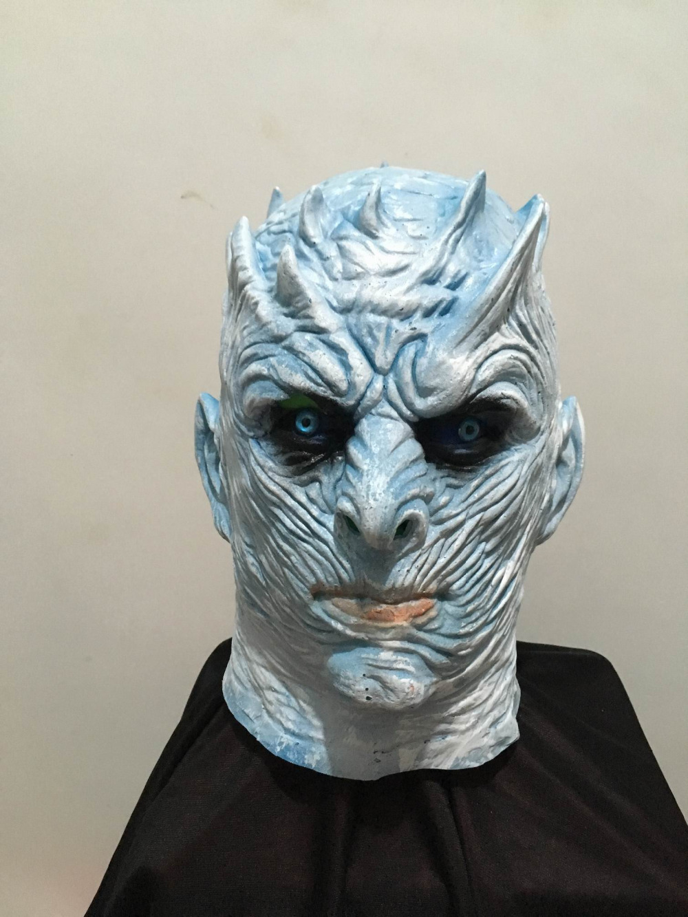 Halloween Mask Night's King Walker Face Game Of Thrones NIGHT RE Zombie Latex Mask Adults Cosplay Throne Costume Party Mask