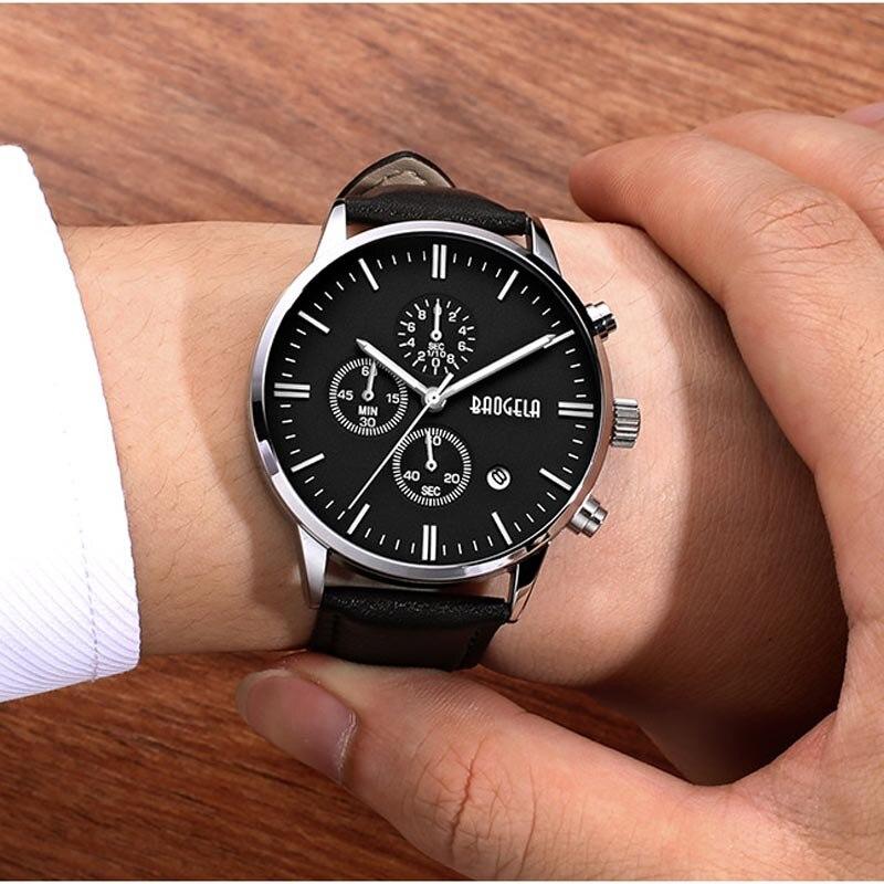 BAOGELA Fashion Sports Cool Men Quartz Watches Waterproof Wristwatch For Watch Famous Fashion Sports Cool Men Quartz curren men s fashion casual simple canvas cool quartz sports watches