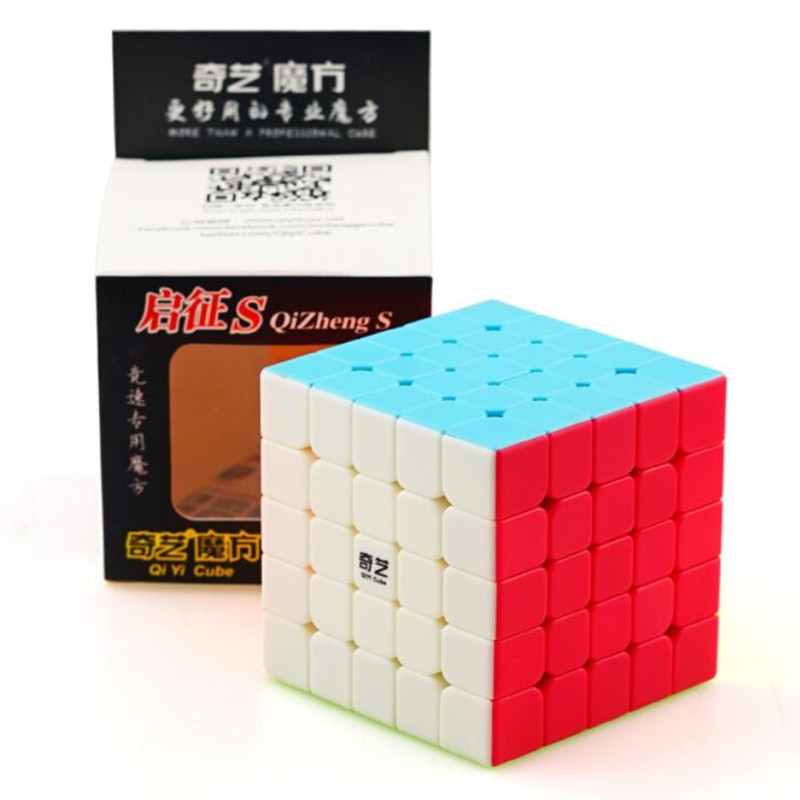 QiYi S Qi Zheng 5*5*5 Cube Professional Puzzle Magic Cube Stickerless Cubo Magico Game Cube Educational Speed Toys For Children
