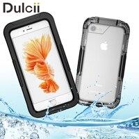 DULCII f undaสำหรับแอปเปิ้ลไอโฟน7บวก7กรณีกันน้ำIP68 10