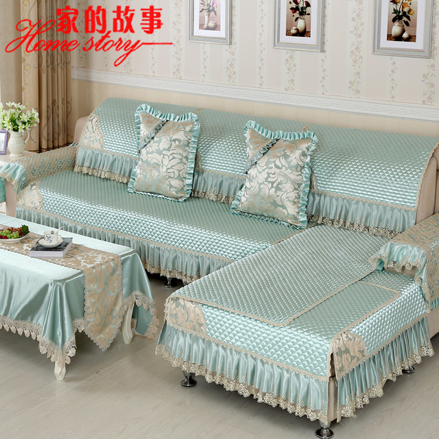 Sofa Cover Summer Solid Wood Cushion Slip Leather Towel Shroud Customized Child