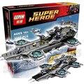 3057 шт. Гражданской Войны ЩИТ Helicarrier Блок Установить Капитан Америка Зимний Солдат Строительные Блоки, которые Поддерживаются с Lego