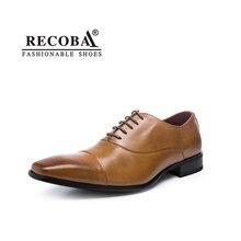 Для мужчин обувь роскошные дизайнерские брендовые черный коричневый Натуральная кожа вечернее торжественное платье оксфорды Дерби на плоской подошве Zapatos Hombre