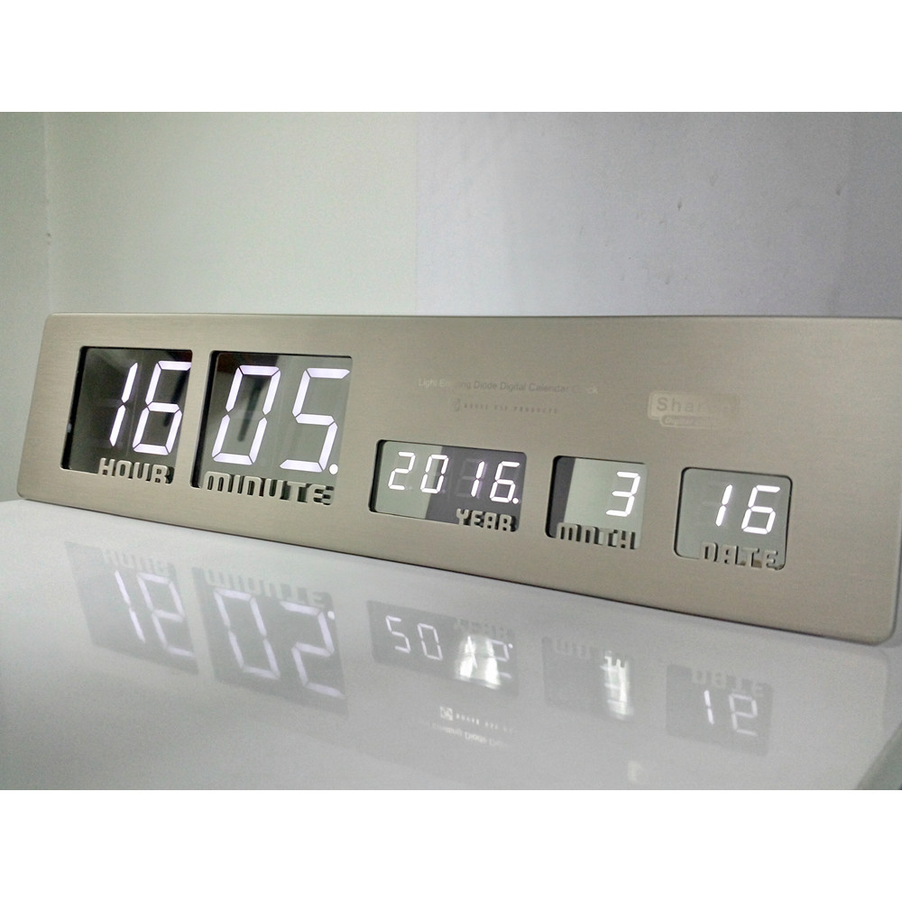 Dhl free shipping beautiful large led digital wall clock modern dhl free shipping beautiful large led digital wall clock modern design home decor horse desk table digital watch alarm clocks in wall clocks from home amipublicfo Images
