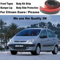 For Citroen Xsara / Picasso Car Bumper Lips / Spoiler Car Tuning Body Kit Strip Front Tapes / Body Chassis Side Protection