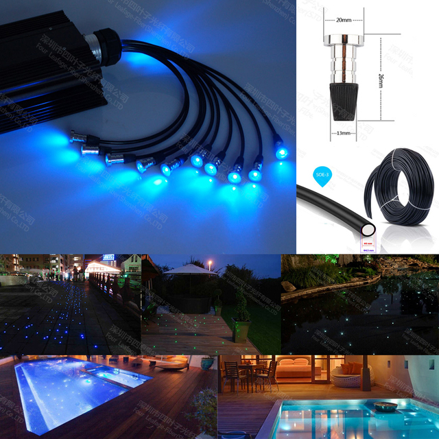 Buy 16w rgb led underwater fountain light for Koi pond underwater lighting