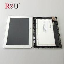 R & T B101EAN01.6 LCD screen display de pantalla táctil Digitalizador Asamblea con marco Para ASUS Transformer Pad TF103 TF103CG K018
