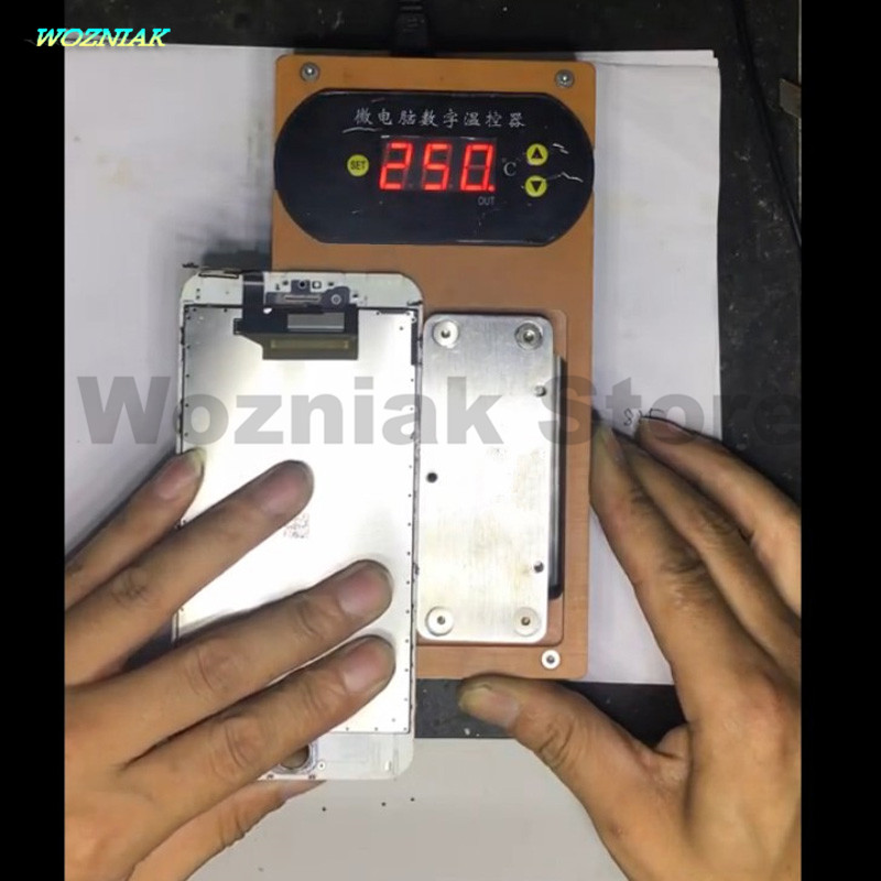 Wozniak Constant temperature heating table for iphone 5 6 7 Disassemble Mobile phone LCD screen Border bracket Motherboard image