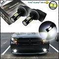 (2) extremadamente Brillante 50 W CRE'E Alta Potencia 881 886 H27W LLEVÓ Bombillas de Repuesto Para Lámparas de Niebla Luces de Conducción Del Coche, el Color Blanco Del xenón