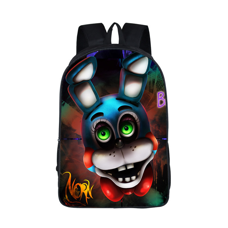 Boys Girls School Bags Five Nights  At Freddys Backpack For Teen Bonnie Fazbear Foxy Freddy Chica Backpack Backpacks Kids Bags