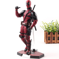 Hot Toys MMS 347 Deadpool Figurine 1/6 Scale with Real Clothes PVC Action Figures Marvel Collection Model Toys
