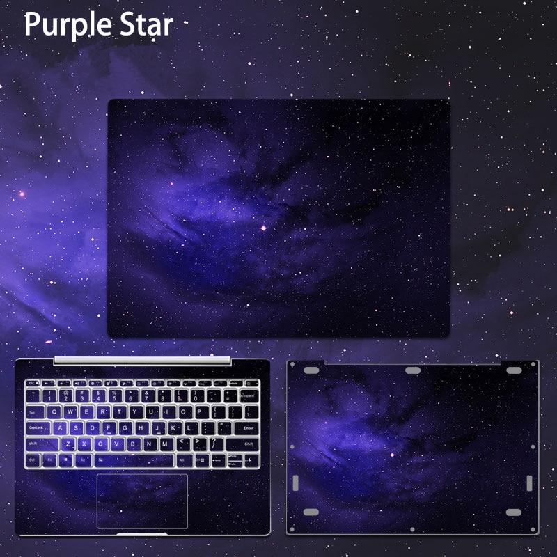 Xiao mi mi 노트북 프로 15.6 인치 노트북 스티커에 대 한 보라색 스타 비닐 데 칼 노트북 피부 xiao mi air 12.5 13.3 노트북 커버