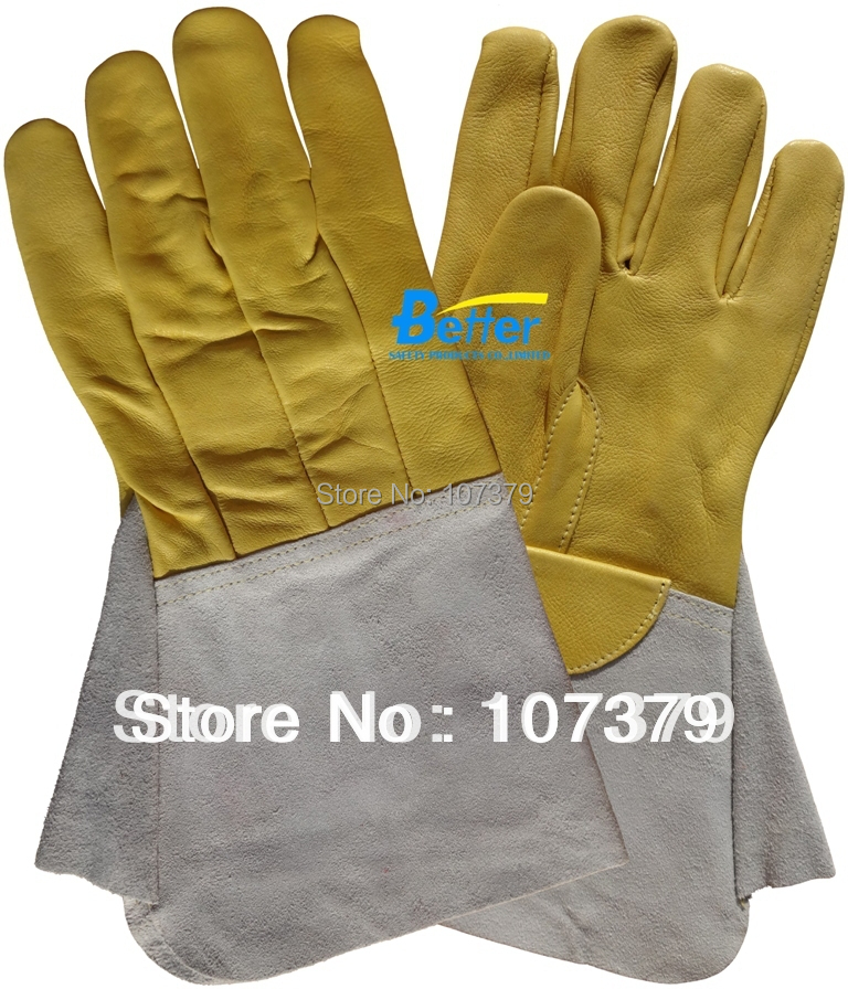 Leather Safety Glove Deluxe TIG MIG Leather Welding Glove Comfoflex Leather Driver Work Glove leather safety glove deluxe tig mig leather welding glove comfoflex leather driver work glove