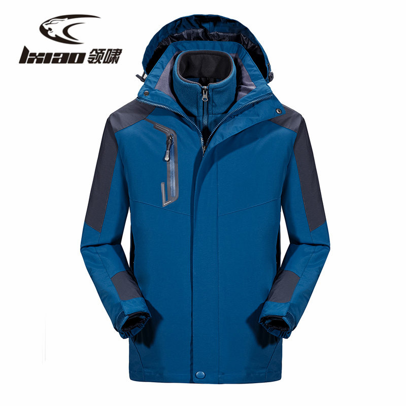 LXIAO Men Hiking Jackets Spring Autumn Outdoor Sport Mountain Female Jacket Polyester Waterproof Camping jaqueta masculina