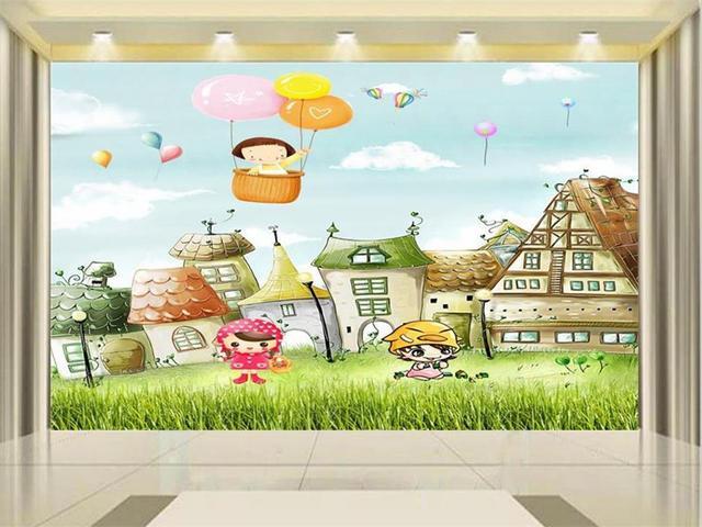 3d Papel Pintado Foto Papel Pintado Personalizado Mural De Los Ninos
