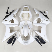 Motorcycle ABS White Unpainted Fairing BodyWork Kit Fit For Yamaha YZF-R6 YZF R6 2005 INJECTION MOLDED free customize fairing kit fit for yamaha r6 2003 2004 2005 yellow matte black yzf r6 fairings set 03 04 05 156