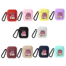 Lovely Earphone Cases For Apple AirPods Silicone Cover Wireless Bluetooth Headphone Case Heart Lover Box Airpods
