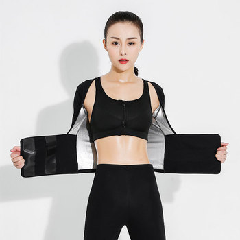 Women Sweatwear Sets Bodybuilding Gym Sauna suit Corsets/shapewear Fitness Apparel Joggers SportWear Bra Pants Tracksuit Walking 1