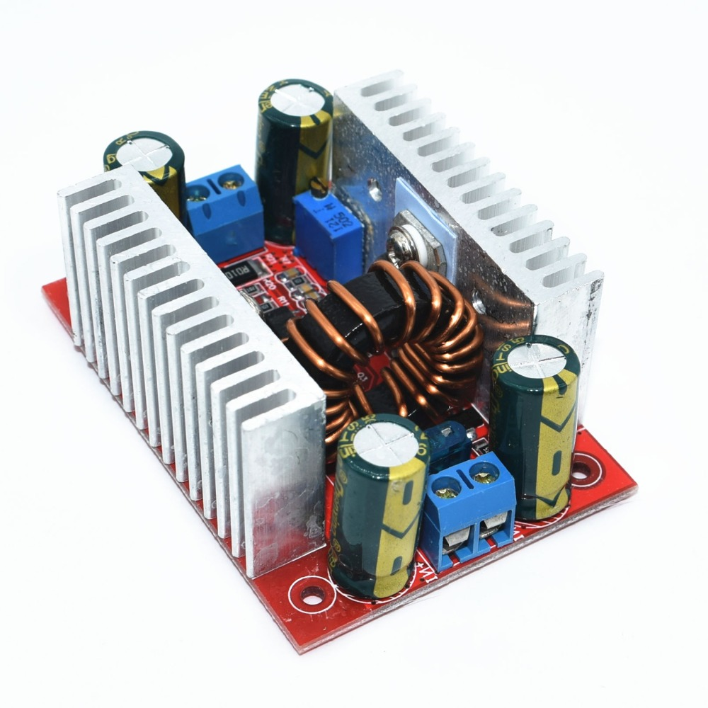 10pcs DC-DC 400W 15A Step-up Boost Converter Constant Current Power Supply LED Driver 8.5-50V to 10-60V Voltage
