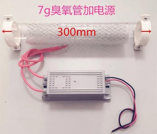 цена High Quality 7g Ozone Generator Ozone Tube 7g/h for DIY WATER Plant Purifier