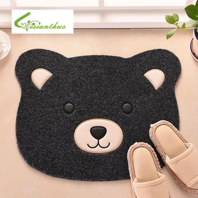 49.5*56.5cm Doormats Cartoon Bear Floor Mat Doormat Cute Rugs Carpets For  Home Bedroom