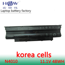 48WH original laptop battery for Dell FOR Inspiron 13R 14R 15R 17R M501 M5010 N3010 N4010 N5010 312-0233,312-1205,383CW akku