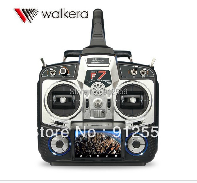 2013 Newest Walkera DEVO F7 Kit+Battery+5.8G Transmitter+DV04 Camera+FP  Convertor Combo B Support FPV Function