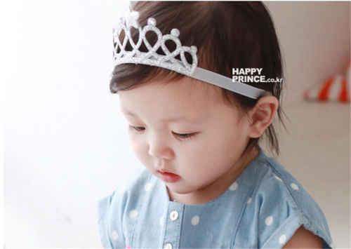 Las niñas princesa corona tocados diademas lazo bebé niño Niños Accesorios sombreros de pelo