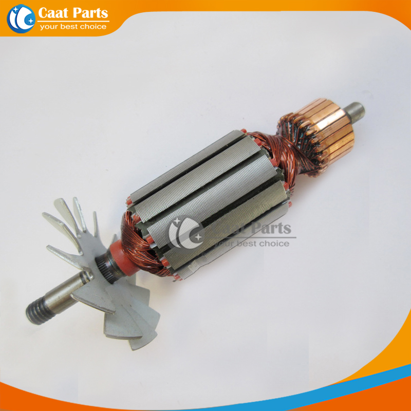 Free shipping! AC 220V Drive Shaft Electric planer Armature Rotor for Makita 1911B , High-quality! free shipping ac 220v drive shaft electric hammer armature rotor for bosch gws14 150c high quality