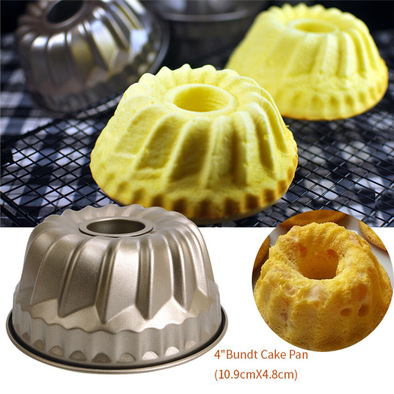HOT SALE NEW Classic Nonstick Pineapple Chiffon Bakeware Mold Carbon Steel Fluted Cake Baking Pan Tool Bakeware Sets