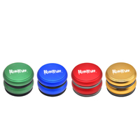 1pc NEW Style Portable Drum Aluminum Metal Smoking Herb Grinders 48MM 4 Layer CNC Aluminum Dry Herb Grinder Tobacco Weed Miller
