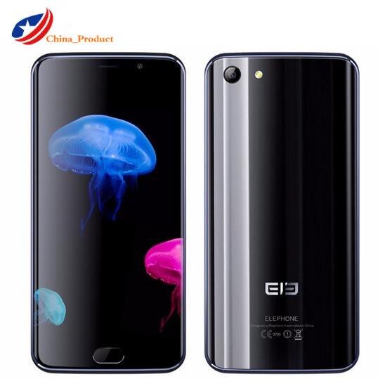 Новый Elephone S7 4 Гб 64 Гб мобильный телефон на процессоре Helio X20 Дека, четыре ядра, смартфон с функцией отпечатков пальцев (5,5 ''13.0MP 3000 мА/ч, 4G, LTE, отп...