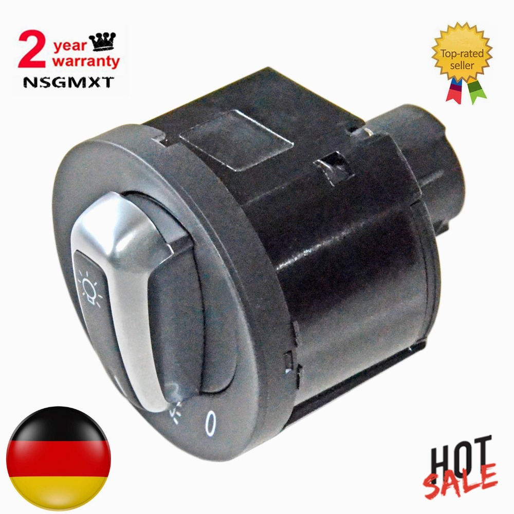 AP01 Head Lamp Switch For Seat Alhambra VW Caddy Golf Plus Jetta Multivan Passat Scirocco Sharan Tiguan Touran Transporter