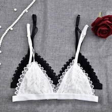 f21583ea07 Arherigele Lace Bralette Sexy Bras for Women Girl Wire Free Push Up Bra  Triangle Bralette Women Lingerie Brassiere Soutien Gorge