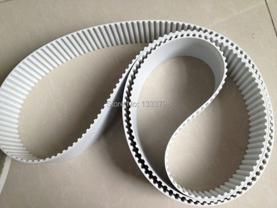 Cheap price strong  25mm width T10 pu timing belt with steel core, closed loop belt 15mm width t5 steel core endless timing belt closed loop pu belt