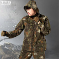 Men Quick Drying Camouflage Python Tactical Jacket Military Assault Hunting Coat Male Durable Water Repellent CS Combat Cloth