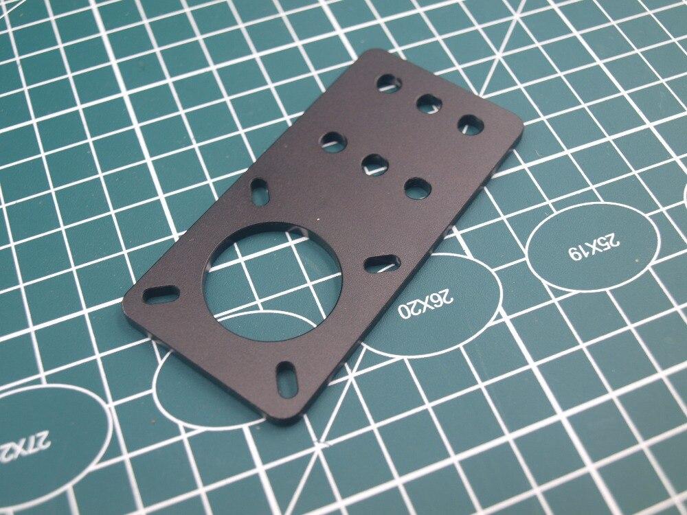 3D Printer NEMA 17 Stepper Motor Mount Plate T6 Board Builds Part Aluminum