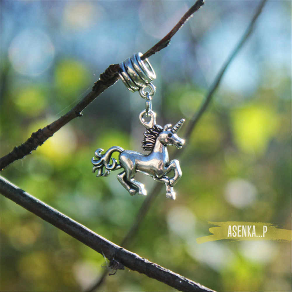 Skyrim Animal Unicorn/Zebra/Horse/Horseman Charms Pendants Beads Fit DIY  Bracelet/Necklace/Bangle Jewelry Making Finding