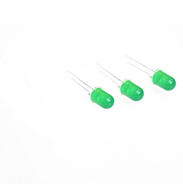 1000pcs LED green 5mm Diode Super Bright Round Through Hole 5 mm LED Light Emitting Diode Lamp Electronics Components