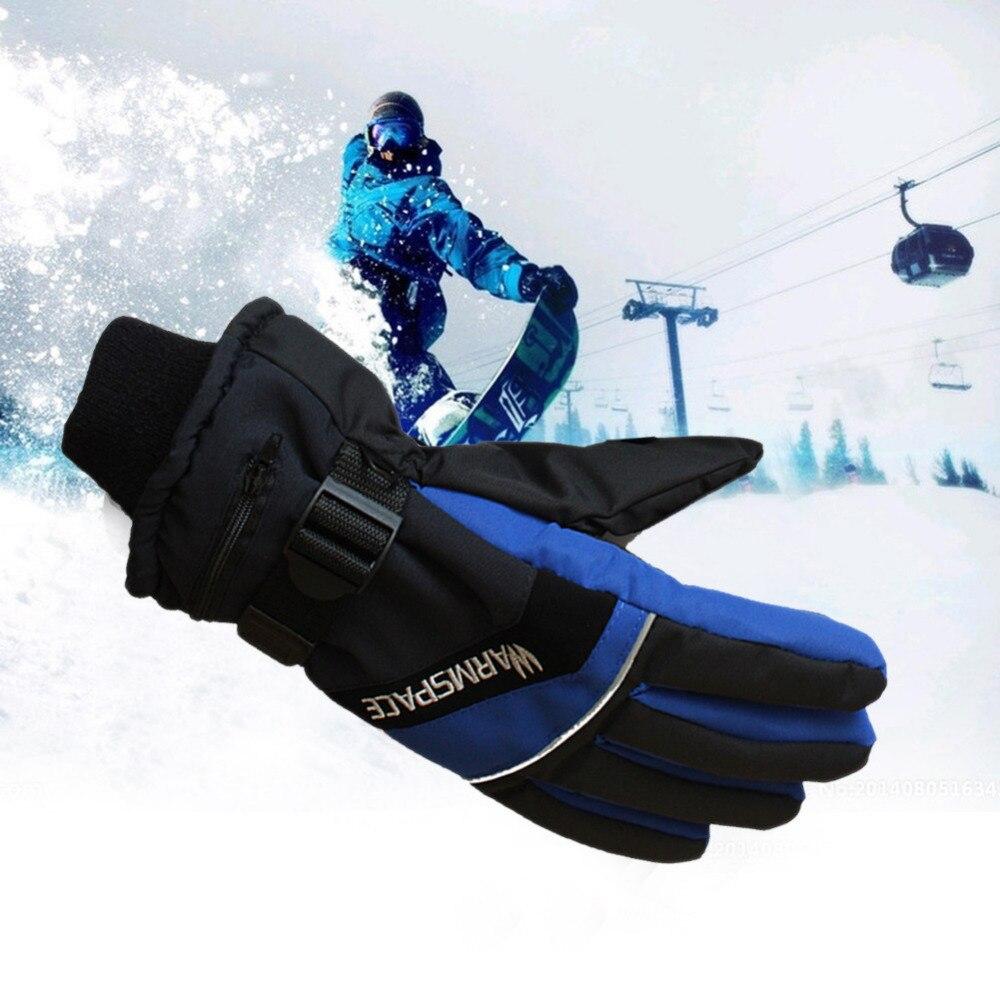 Eu/US Plug imperméable à l'eau moto extérieure électrique chauffé gants snowboard hiver gants mains plus chaudes batterie Rechargeable