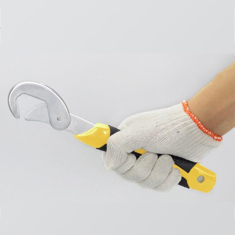 Hohe qualität 2 stücke Einstellbare schlüssel Tragbare Verstellbare Quick Snap und Grip Schraubenschlüssel Universal Wrench Set