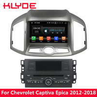 KLYDE 8 4G Octa Core Android 8 4GB RAM 32GB ROM Car DVD Player Stereo For Chevrolet Captiva Epica 2012 2013 2014 2015 2016 2018