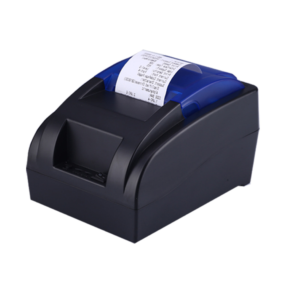 Cheap USB Bluetooth Serial Pos58 Thermal Receipt Bill Ticket Printer With Cash Box Port Support Multiple Languages